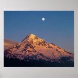 Los E.E.U.U., Oregon, capilla del Mt. La puesta de Posters