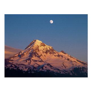 Los E.E.U.U., Oregon, capilla del Mt. La puesta Tarjetas Postales