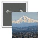 Los E.E.U.U., Oregon, capilla del soporte en invie Pin Cuadrada 5 Cm
