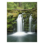 Los E.E.U.U., Oregon, gama de la cascada, nacional Arte Con Fotos
