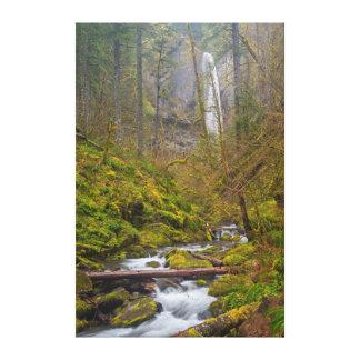Los E.E.U.U., Oregon, garganta de Columbia Impresión En Lona Estirada