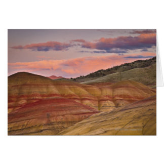 Los E.E.U.U., Oregon, Mitchell, colinas pintadas d Tarjeta De Felicitación