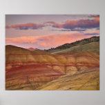 Los E.E.U.U., Oregon, Mitchell, colinas pintadas Póster