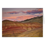 Los E.E.U.U., Oregon, Mitchell, colinas pintadas Tarjeta De Felicitación