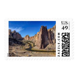 Los E.E.U.U., Oregon, parque de estado de la roca Sello Postal