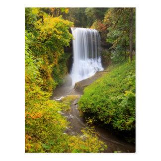 Los E.E.U.U., Oregon, plata caen el parque de Postales