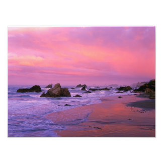 Los E.E.U.U., Oregon, playa de estado de Harris, B Impresiones Fotográficas