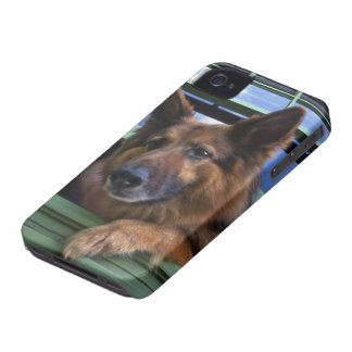 Los E.E.U.U., Oregon, Portland. Griff el de pelo iPhone 4 Case-Mate Protectores