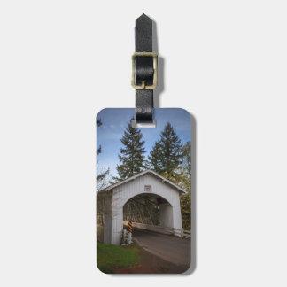 Los E.E.U.U., Oregon, Scio, puente 2 de Hannah Etiquetas De Equipaje