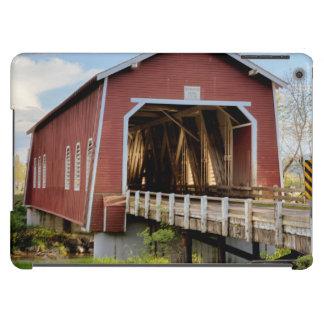 Los E.E.U.U., Oregon, Scio, puente de Shimanek Funda Para iPad Air