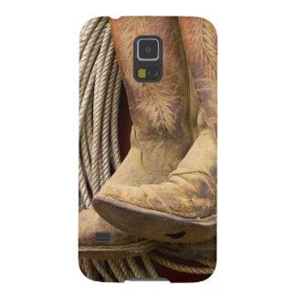 Los E.E.U.U., Oregon, Seneca, rancho de Ponderosa. Carcasa Galaxy S5