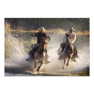Los E.E.U.U., Oregon, Seneca, rancho de Ponderosa. Impresiones Fotograficas