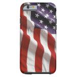 Los E.E.U.U. orgullosos y patrióticos Funda De iPhone 6 Tough