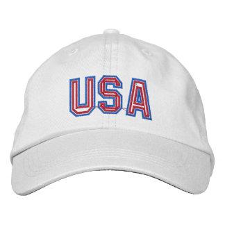 Los E.E.U.U. patrióticos Gorras De Beisbol Bordadas