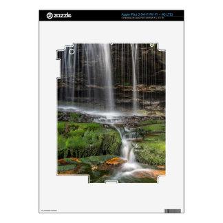 Los E.E.U.U., Pennsylvania, Benton. Cascada iPad 3 Skins