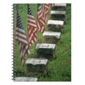 Los E.E.U.U., Pennsylvania, Gettysburg. Guerra civ Libretas
