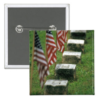 Los E.E.U.U., Pennsylvania, Gettysburg. Guerra civ Pin Cuadrada 5 Cm