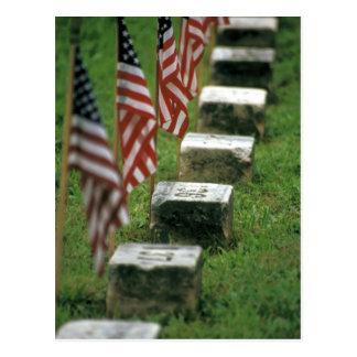 Los E.E.U.U., Pennsylvania, Gettysburg. Guerra Tarjeta Postal
