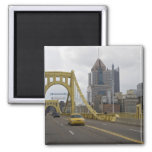 Los E.E.U.U., Pennsylvania, Pittsburgh. La 6ta cal Imán Cuadrado