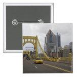 Los E.E.U.U., Pennsylvania, Pittsburgh. La 6ta cal Pin Cuadrada 5 Cm