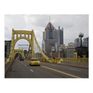 Los E.E.U.U., Pennsylvania, Pittsburgh. La 6ta cal Postal