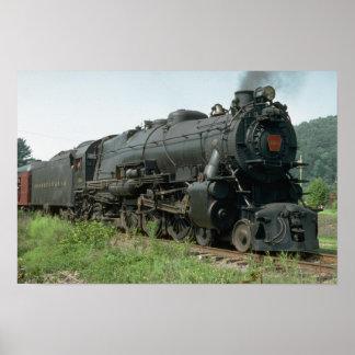 Los E.E.U.U., Pennsylvania RR 4-6-2 K4s Impresiones