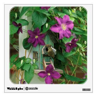 Los E.E.U.U., Pennsylvania. Wren en birdhouse Vinilo Decorativo