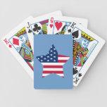 Los E.E.U.U. protagonizan la bandera americana Baraja