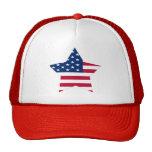 Los E.E.U.U. protagonizan la bandera americana Gorros
