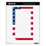 Los E.E.U.U. protagonizan la bandera americana NOOK Color Skin