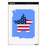 Los E.E.U.U. protagonizan la bandera americana Calcomanía Para iPad 2