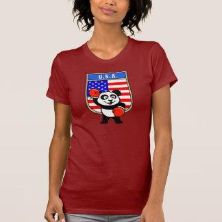 Los E E U U que encajonan la panda Camisetas