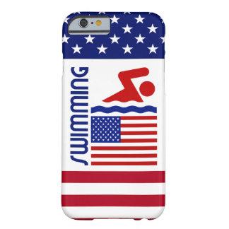 Los E.E.U.U. que nadan Funda De iPhone 6 Barely There