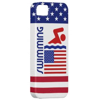 Los E.E.U.U. que nadan iPhone 5 Coberturas