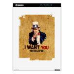 Los E.E.U.U. - Quisiera que usted creyera Calcomanía Para El iPad 2