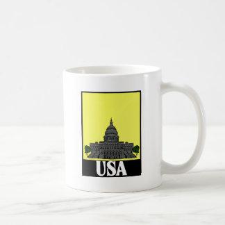 Los E.E.U.U. refrescan diseño/la postal, el etc Taza De Café