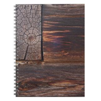 Los E.E.U.U., salmones, Idaho, cabaña de madera Spiral Notebooks