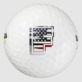 Los E.E.U.U. señalan el monograma por medio de una Pack De Pelotas De Golf