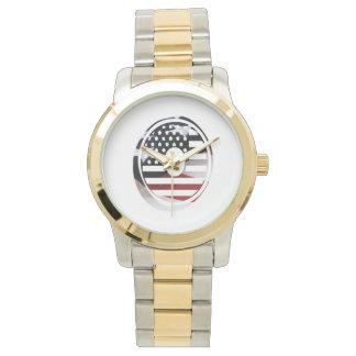 Los E.E.U.U. señalan el monograma por medio de una Relojes De Mano
