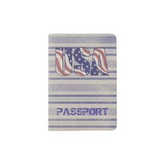 Los E.E.U.U. señalan el monograma rústico del Porta Pasaportes
