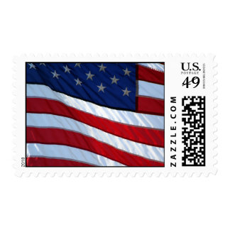 Los E.E.U.U. señalan franqueo por medio de una Timbres Postales