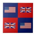 Los E.E.U.U. señalan por medio de una bandera y mo Teja Cerámica