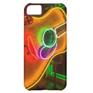 Los E.E.U.U., Tejas, Austin. Guitarra de neón en Carcasa Para iPhone 5C