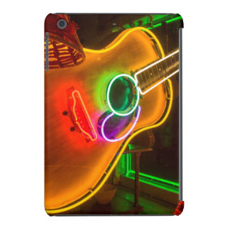 Los E.E.U.U., Tejas, Austin. Guitarra de neón en Fundas De iPad Mini