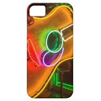 Los E.E.U.U., Tejas, Austin. Guitarra de neón en Funda Para iPhone SE/5/5s