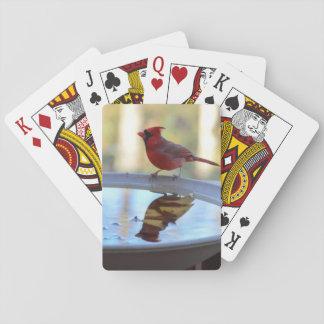 Los E.E.U.U., Tennessee, Atenas. Baño 2 del pájaro Cartas De Póquer