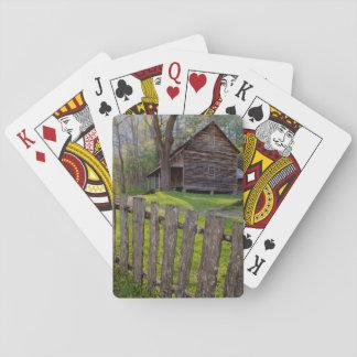 Los E.E.U.U., Tennessee, cabina en la ensenada de Baraja De Póquer