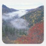 Los E.E.U.U., Tennessee, grandes montañas de Pegatina Cuadrada