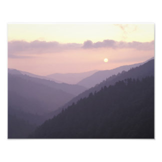 Los E.E.U.U., Tennessee. Grandes montañas de Smoke Cojinete