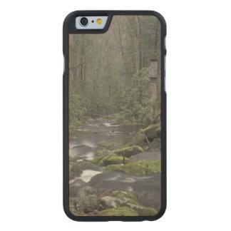 Los E.E.U.U., Tennessee, nacional 3 de Great Smoky Funda De iPhone 6 Carved® Slim De Arce